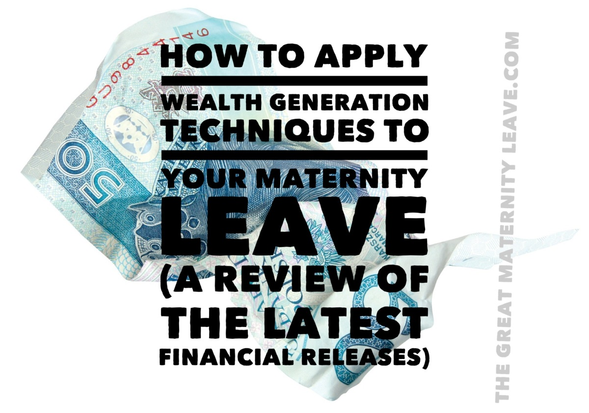 The GML Book Club:  Increasing my Financial Intelligence on Maternity Leave