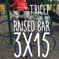 Balance out your bicep strength from carrying babies with tricep dips