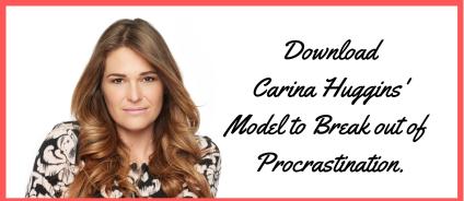Professional Life Coach Carina has a free PDF to end procrastination.